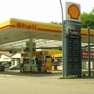 Shell Pfarwiesenallee hinte Tankstelle