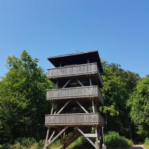 Aussichtsturm im Mandelbachtal bei Ormesheim