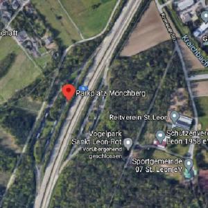 A5 Parkplatz  Mönchberg mit WC