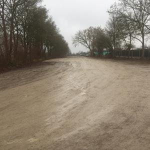 Schrebergarten Parkplatz