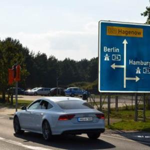 Bandenitz aus Schwerin kommend rechts vor d.A24