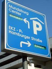 UCI Parkhaus Mundsburg nur für Spanner