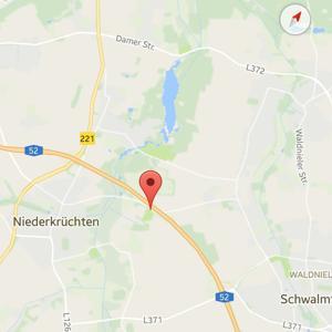 Landstrasse zwischen Waldniel und Niederkrüchten