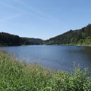 Bleilochtalsperre / Remptendorfer Bucht